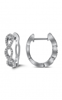Odelia Diamond Hoop Earrings AER-11558 product image