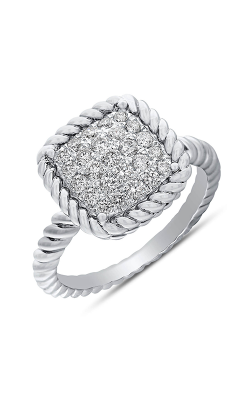 Odelia Diamond Square Ring ALR-13173 product image