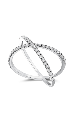 Odelia Diamond Criss Cross Ring ALR-10352 product image