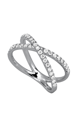 Odelia Diamond Criss Cross Ring ALR-10953 product image