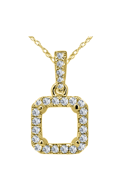 Odelia Diamond Open Square Shape Pendant With Chain APD-10526 product image
