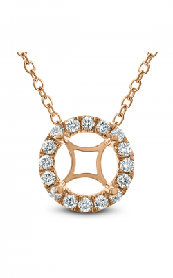 Odelia Diamond Round Pendant With Chain APD-13727 product image