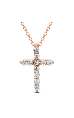 Odelia Diamond Cross Pendant With Chain ACR-13300 product image