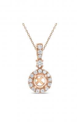 Odelia Diamond Round Shape Pendant APD-12712 product image