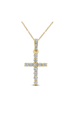 Odelia Diamond Cross Pendant With Chain ACR-13037 product image