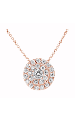 Odelia Diamond Round Cluster Pendant APD-10712 product image