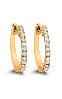Odelia Diamond Hoop Earrings AER-9846 product image