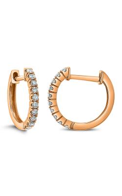 Odelia Diamond Round Hoop Earrings AER-13875 product image