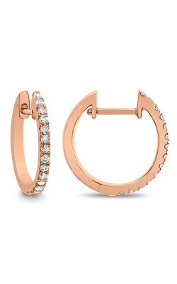 Odelia Diamond Hoop Earrings AER-12654 product image