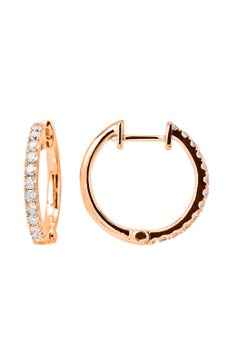 Odelia Diamond Hoop Earrings AER-9847 product image