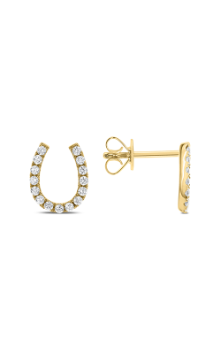 Odelia Diamond Horseshoe Earrings AER-10537 product image