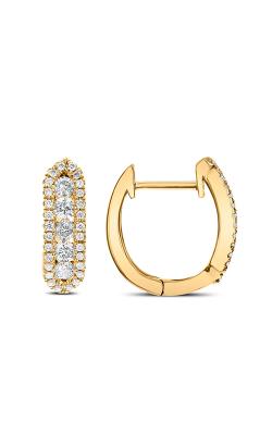 Odelia Diamond Hoop Earrings AER-9069 product image