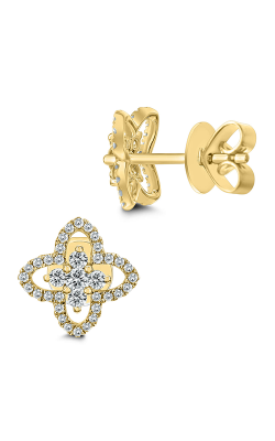 Odelia Diamond Floral Earrings AER-10328 product image