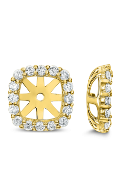 Odelia Diamond Open Square Earrings AER-14998 product image