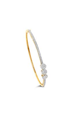 Odelia Diamond 3 Small Circle Bangle ALB-14672 product image