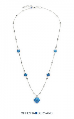 Officina Bernardi Aurora Blu Necklace MD18BLU7N3W product image