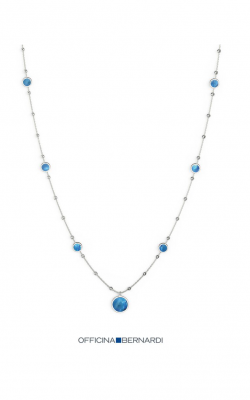 Officina Bernardi Aurora Blu Necklace MD18BLU5N3W product image