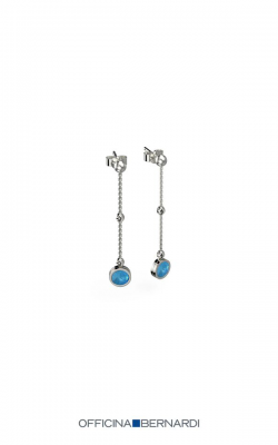 Officina Bernardi Aurora Blu Earrings MD18BLU1E3W product image