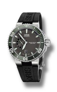 Oris Aquis Small Second, Date 01 743 7673 4137-07 4 26 34EB