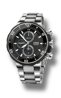 Oris Diving ProDiver Chronograph Watch 774 7727 7154 8 26 74 PEB product image
