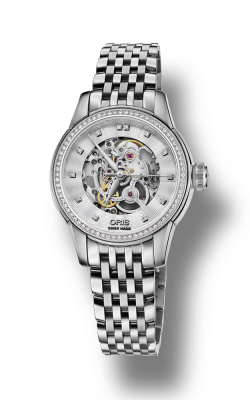 Oris Culture Artelier Skeleton Diamonds Watch 01 560 7687 4919-07 8 14 77 product image
