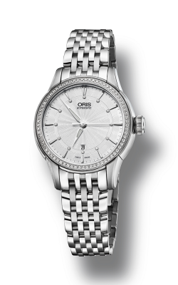 Oris Culture Artelier Date Diamonds Watch 01 561 7687 4951-07 8 14 77 product image