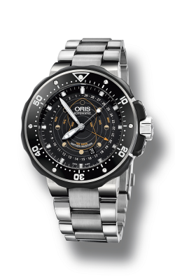 Oris Diving ProDiver Pointer Moon Watch 01 761 7682 7154-Set product image