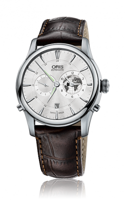 Oris Culture Artelier Greenwich Mean Time Limited Edition Watch 01 690 7690 4081-07 1 22 73FC product image