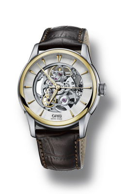 Oris Culture Artelier Skeleton Watch 01 734 7670 4351-07 5 21 70FC product image