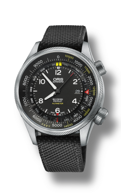 Oris Aviation Big Crown ProPilot  Altimeter With Feet Scale Watch 01 733 7705 4134-07 5 23 15FC product image