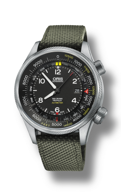 Oris Aviation Big Crown ProPilot  Altimeter With Feet Scale Watch 01 733 7705 4134-07 5 23 14FC product image