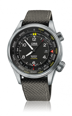 Oris Aviation Big Crown ProPilot  Altimeter With Feet Scale Watch 01 733 7705 4134-07 5 23 17FC product image