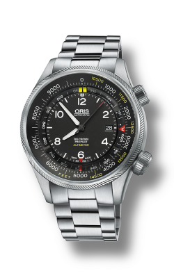 Oris Aviation Big Crown ProPilot  Altimeter With Feet Scale Watch 01 733 7705 4134-07 8 23 19 product image