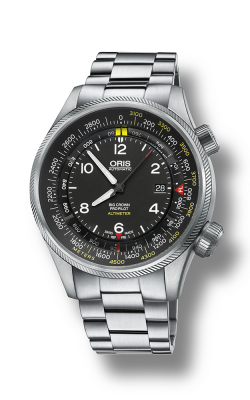 Oris Aviation Big Crown ProPilot Altimeter with Meter Scale Watch 01 733 7705 4164-07 8 23 19 product image