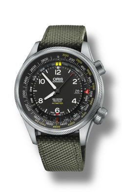 Oris Aviation Big Crown ProPilot Altimeter With Meter Scale Watch 01 733 7705 4164-07 5 23 14FC product image