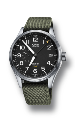 Oris GMT, Small Second Watch 01 748 7710 4164-07 5 22 14FC product image