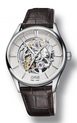 Oris Artelier Skeleton Watch 01 734 7721 4051-07 5 21 65FC product image