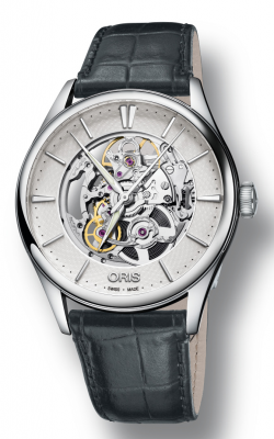 Oris Artelier Skeleton Watch 01 734 7721 4051-07 5 21 61FC product image