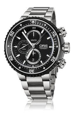 Oris ProDiver Chronograph Watch 01 774 7727 7154-Set product image