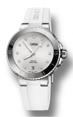 Oris Aquis Date Diamonds Watch 01 733 7731 4191-07 4 18 63FC product image
