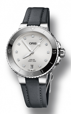 Oris Aquis Date Diamonds Watch 01 733 7731 4191-07 5 18 45FC product image