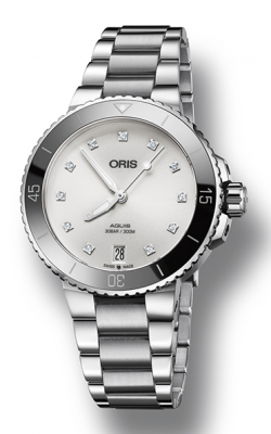 Oris Aquis Date Diamonds Watch 01 733 7731 4191-07 8 18 05P product image
