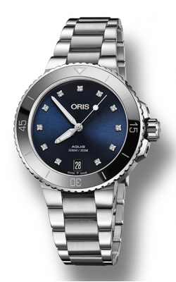 Oris Aquis Date Diamonds Watch 01 733 7731 4195-07 8 18 05P product image