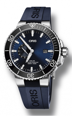 Oris Diving Aquis Small Second, Date Watch 01 743 7733 4135-07 4 24 65EB product image