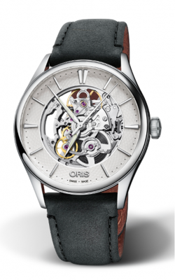 Oris Artelier Skeleton Watch 01 734 7721 4051-07 5 21 34FC product image