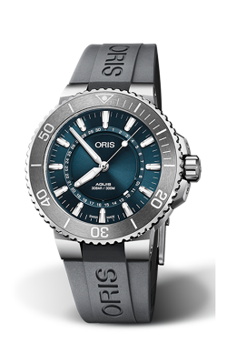 Oris Diving Aquis Source Of Life Limited Edition Watch 01 733 7730 4125-Set MB product image