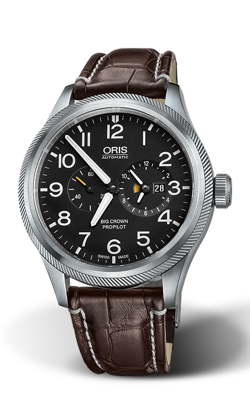 Oris Aviation Big Crown ProPilot Worldtimer Watch 01 690 7735 4164-07 1 22 72FC product image