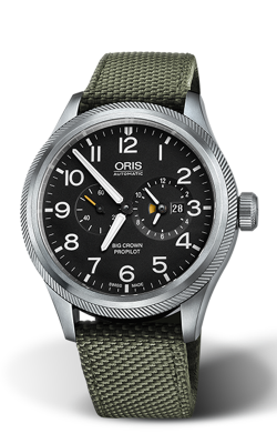 Oris Aviation Big Crown ProPilot Worldtimer Watch 01 690 7735 4164-07 5 22 14FC product image