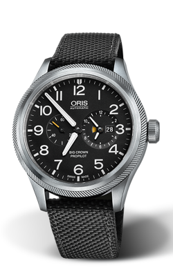 Oris Aviation Big Crown ProPilot Worldtimer Watch 01 690 7735 4164-07 5 22 15FC product image