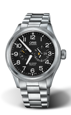 Oris Aviation Big Crown ProPilot Worldtimer Watch 01 690 7735 4164-07 8 22 19 product image